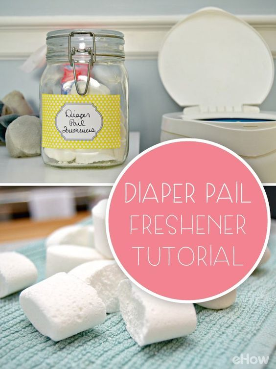 Freshen Your Diaper Pail With This Easy Tutorial | Diaper ...