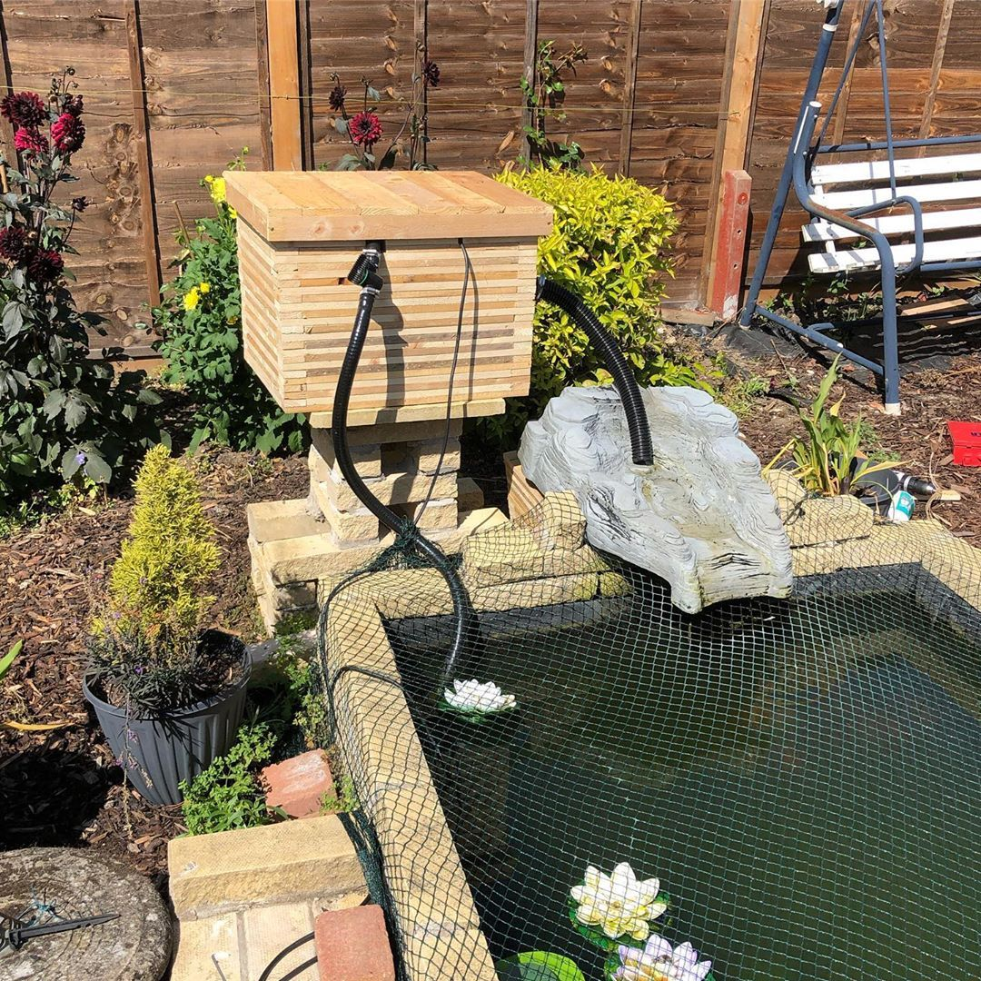 POND FILTER COVER FITTED woodworking pallets