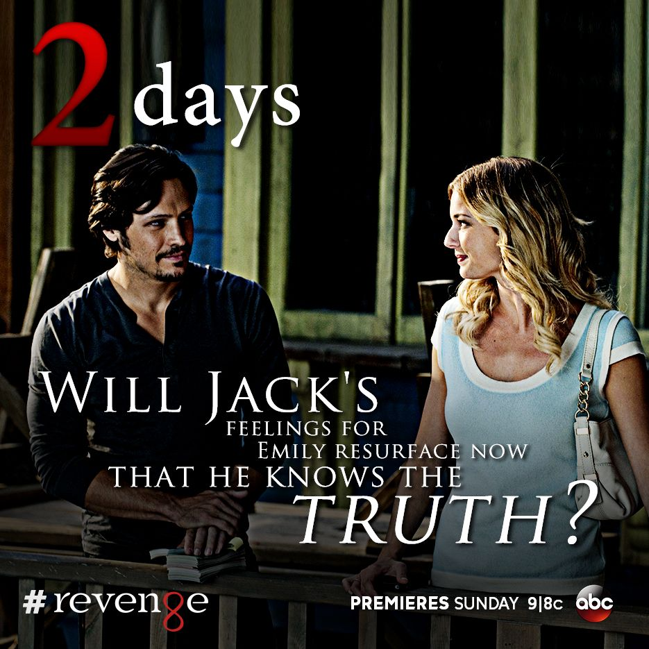 The Truth Is Out What Will Happen Now Revenge Returns Sunday At