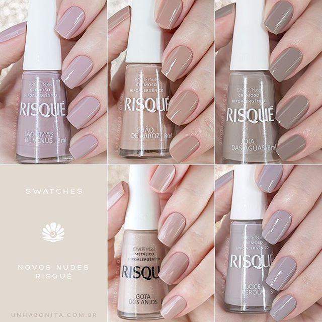 Novos Nudes Risqué   Manicure, Makeup and Pedicures