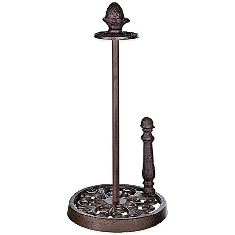 Bed Bath And Beyond Paper Towel Holder Amusing Buy Cast Iron Paper Towel Holder From Bed Bath & Beyond  Interior Decorating Inspiration