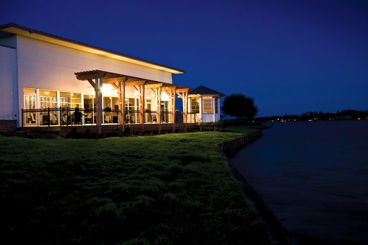 La Torretta Lake Resort Spa Montgomery Texas Hotel Architecture Lakeside