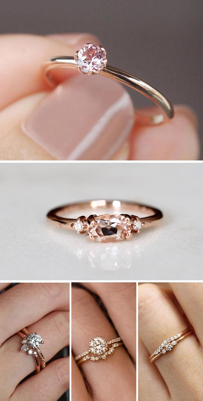 20 Best Rose Gold Engagement Rings On Trend Elegantweddinginvites Com Blog In 2020 Beautiful Rose Gold Engagement Rings Wedding Rings Engagement Engagement Rings