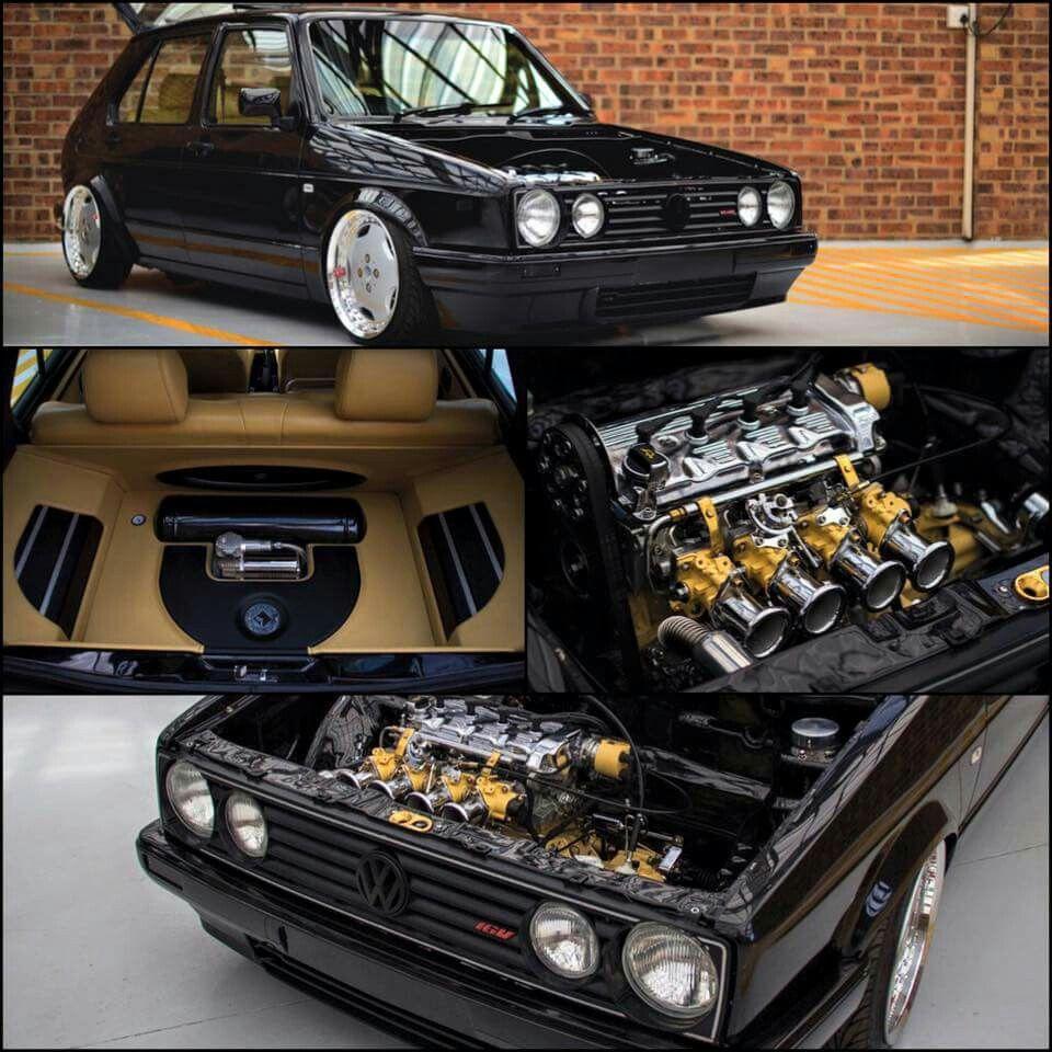 Volkswagen Golf Mk1 | Perfect Interior PLUS Exterior | Pinterest ...