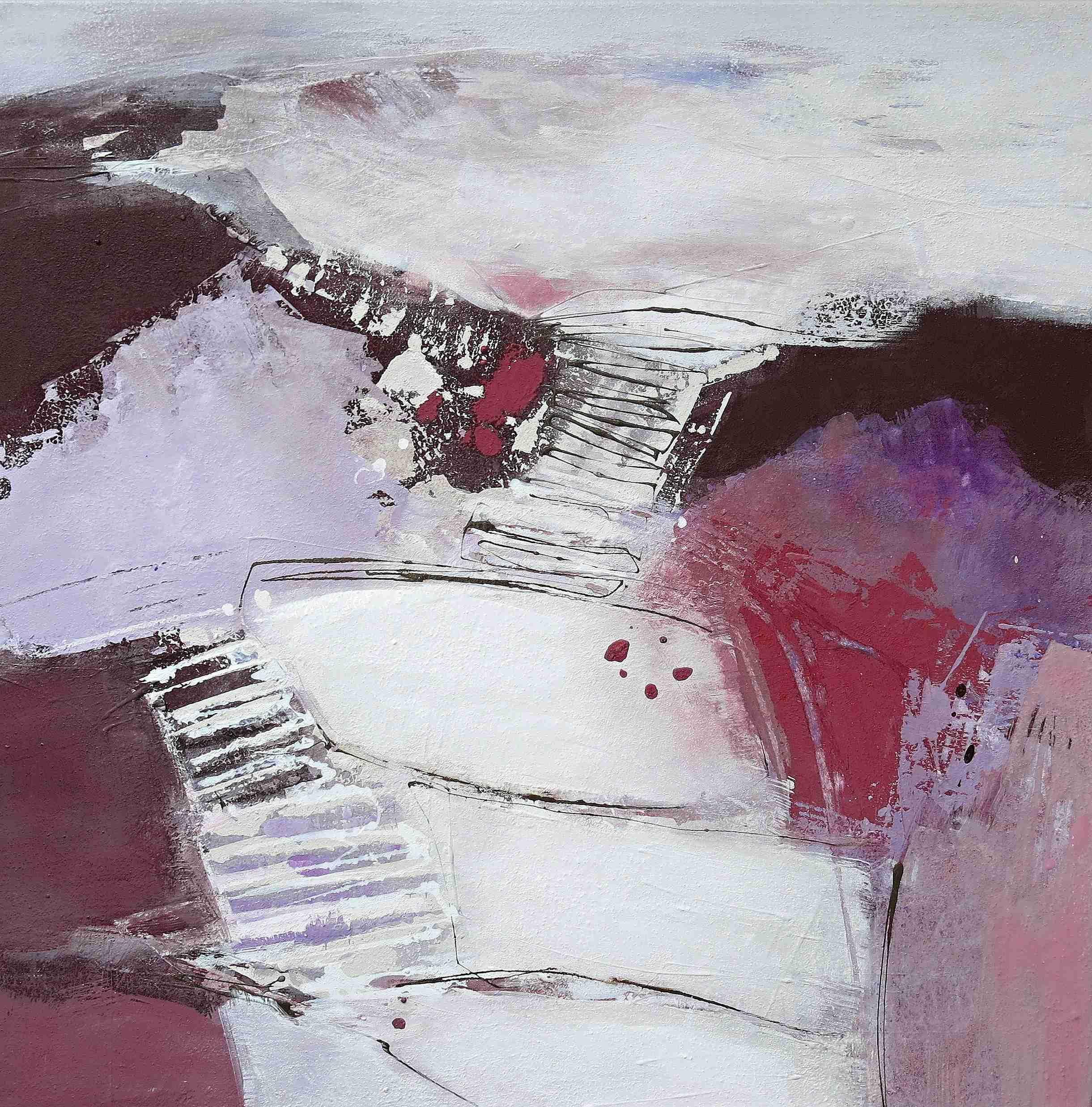 abstrakte Malerei Acryl-Mischtechnik | Renate Migas ...