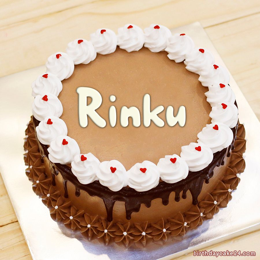 Lovely Chocolate Birthday Cake With Name Edit in 2020