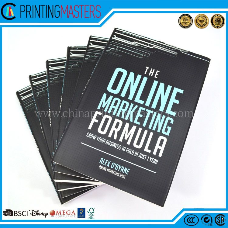 China Printer Full Color Hardcover Book Printing Service With Sleeve ...