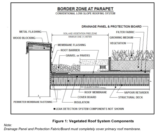 Mb Section 11 Vegetated Green Roof Systems Arca Green Roof System Green Roof Roofing Systems