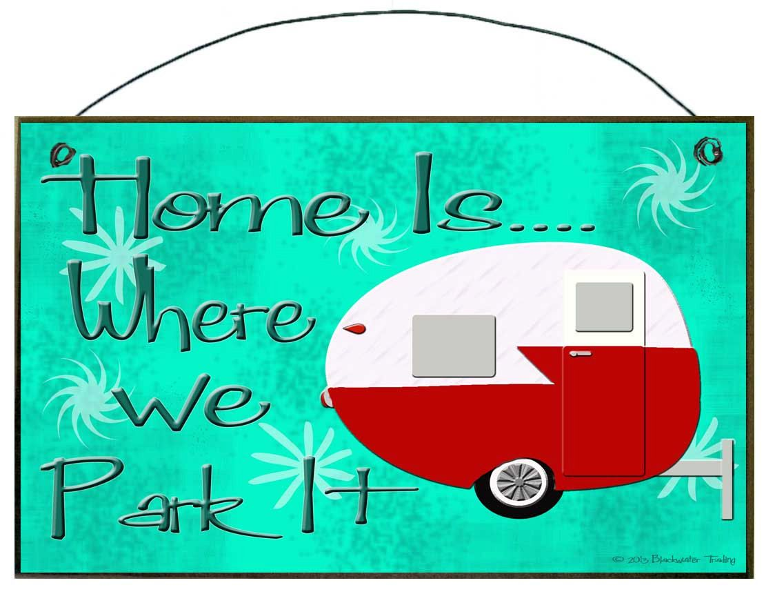 Vintage Trailers Images For Trailer Park Sign Clip Art
