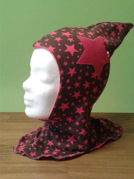 Zipfelmütze kuschelig weich mit Fleece von Kleine-Kreativbox auf DaWanda.com