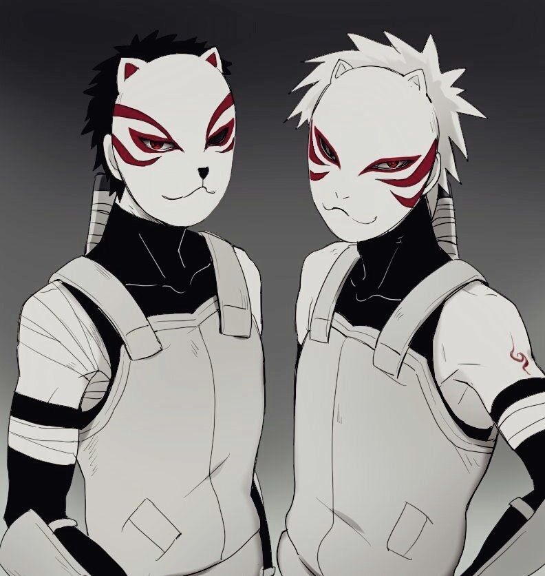 Kakashi Hatake Anbu Black Ops Mask