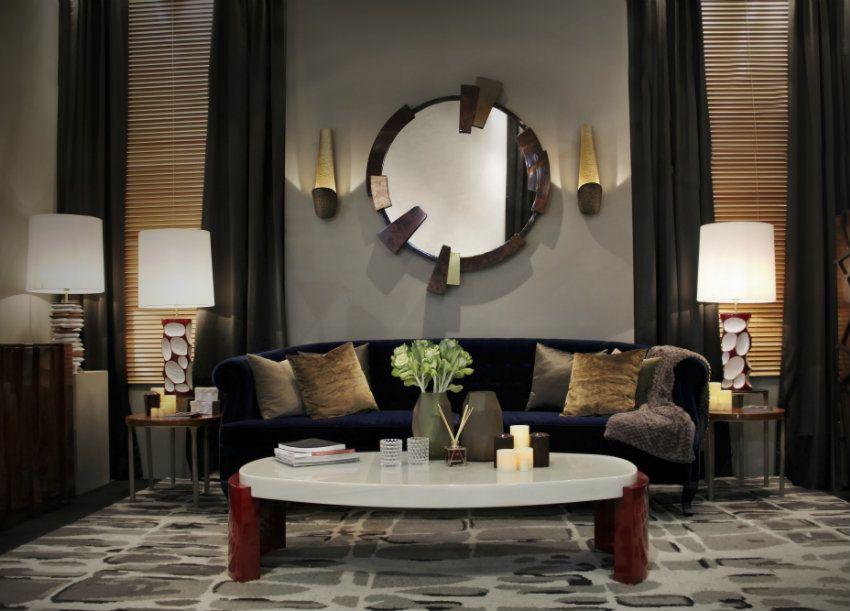 Top 10 Moderne Sofas | Blau Samt Sofa Von Brabbu. Modern Luxus ... Wohnzimmer Modern Design