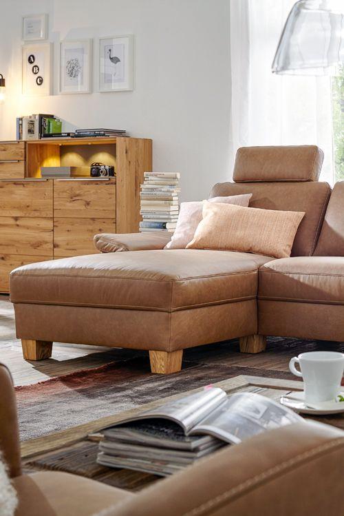 Die Polsterecke Natura Kansas ist der perfekte Rückzugsort nach - gemütliches sofa wohnzimmer