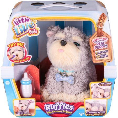 LITTLE LIVE PETS RUFFLES MY DREAM PUPPY Little live pets