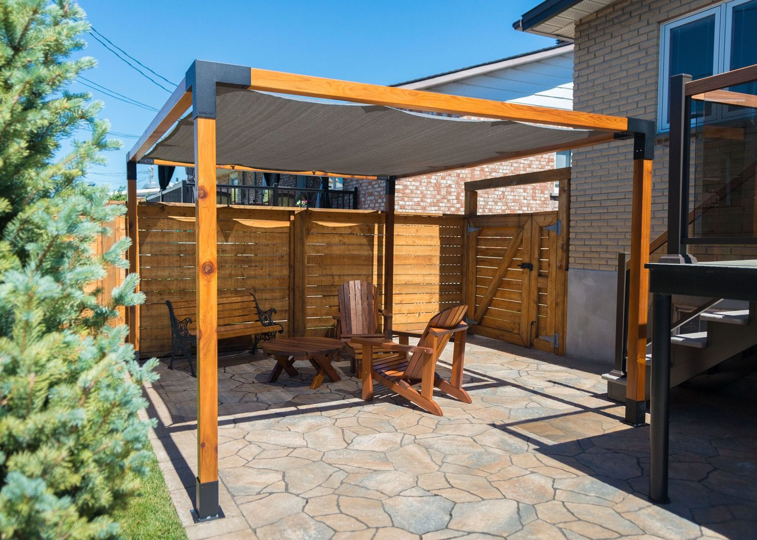 Pergola System Transform Your Patio Space Today With The Toja Grid Modular