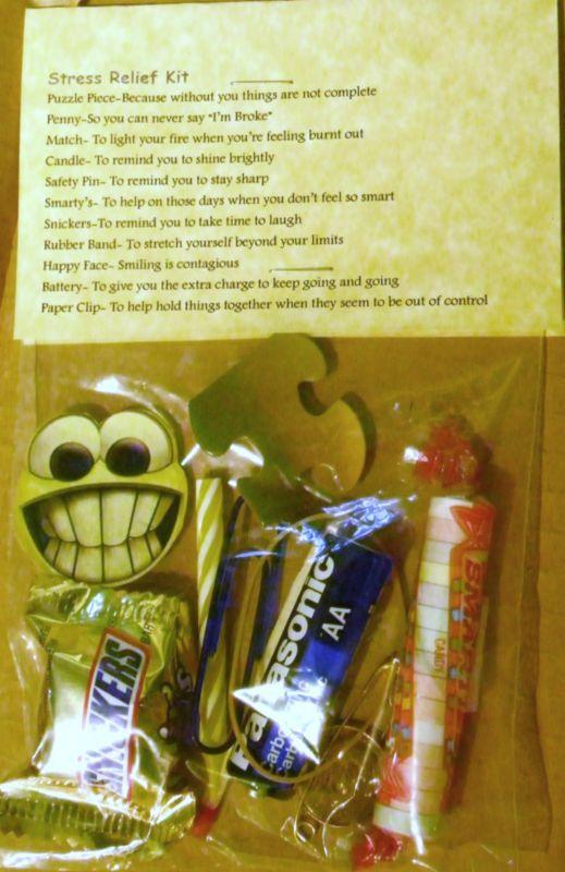 Stress Relief Kit * 11 items inside - Novelty gift | Stuff ...