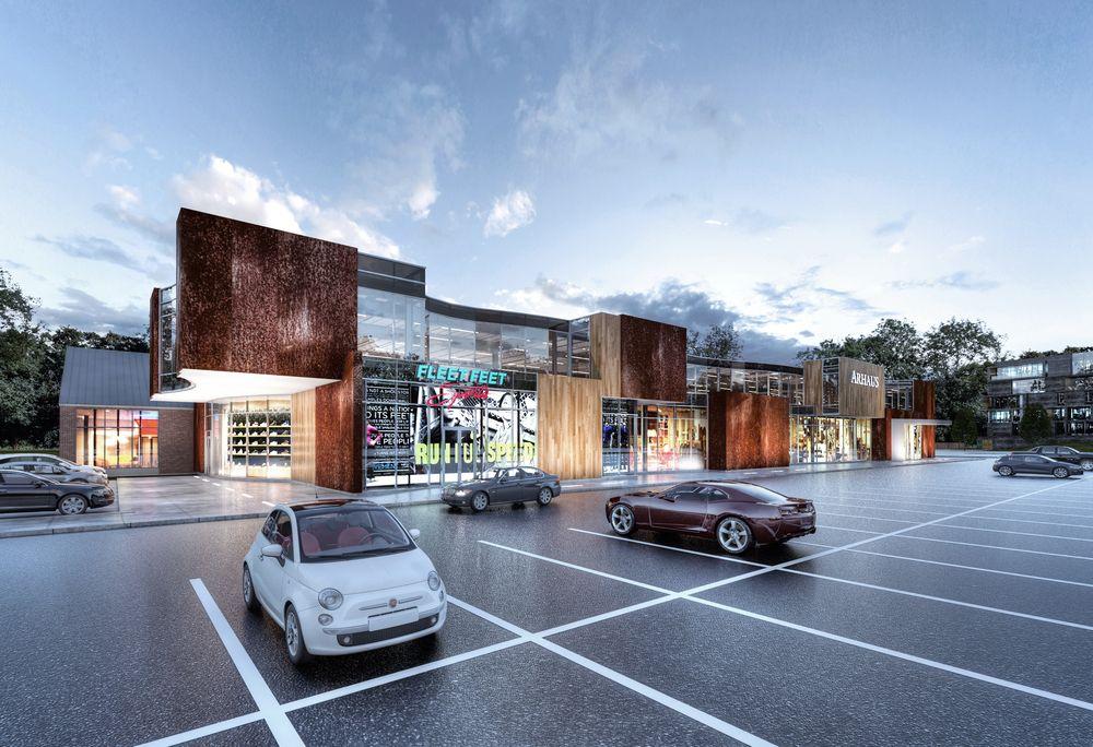 Best exterior retail design google search retail for Retail exterior design