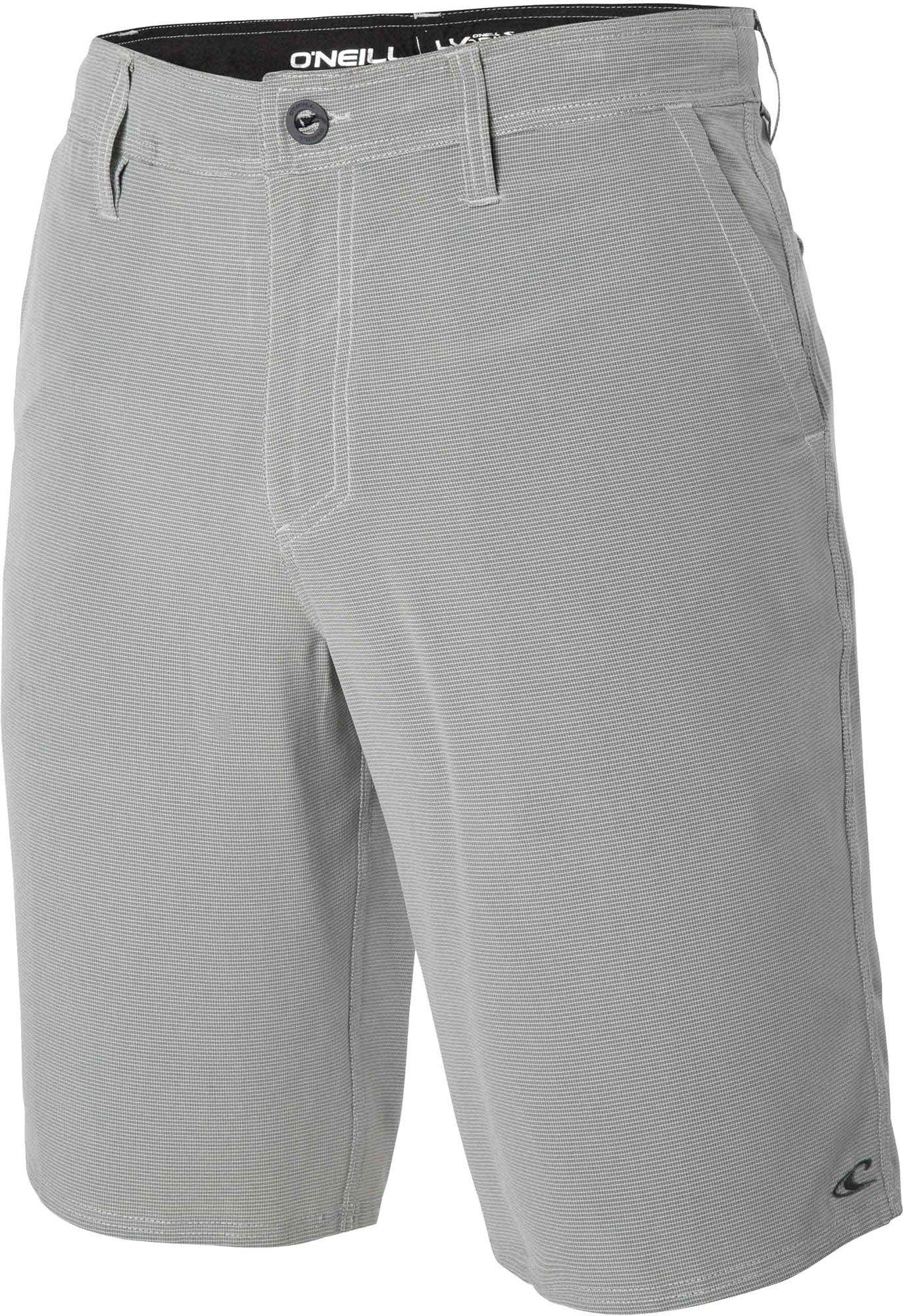 O'Neill Men's Loaded Check Hybrid Shorts,