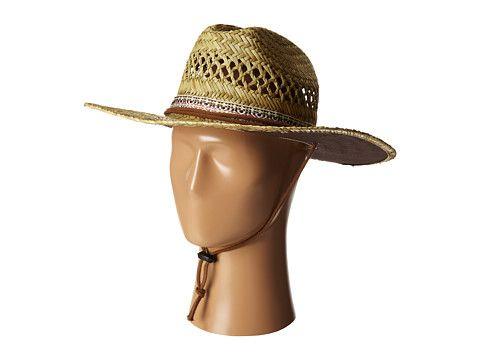 9f586e8a1c3c2 San Diego Hat Company RSM581 Rush Straw Lifeguard w  Band and Chin Cord