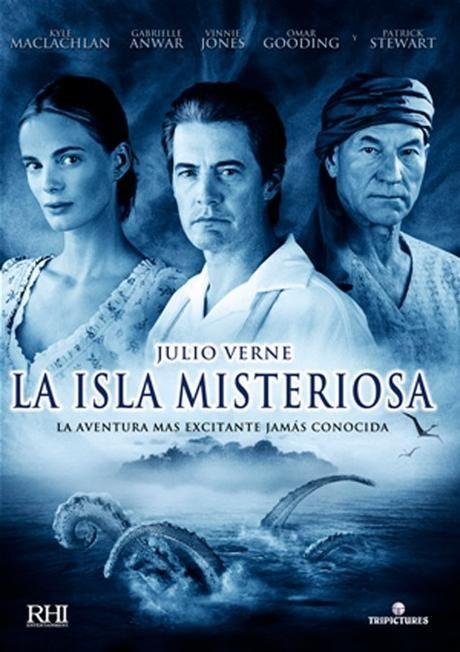 La Isla Misteriosa De Julio Verne 2005 Bichonos Tesoros Y Piratas Paperblog Afiche De Cine Islas Carteles De Peliculas
