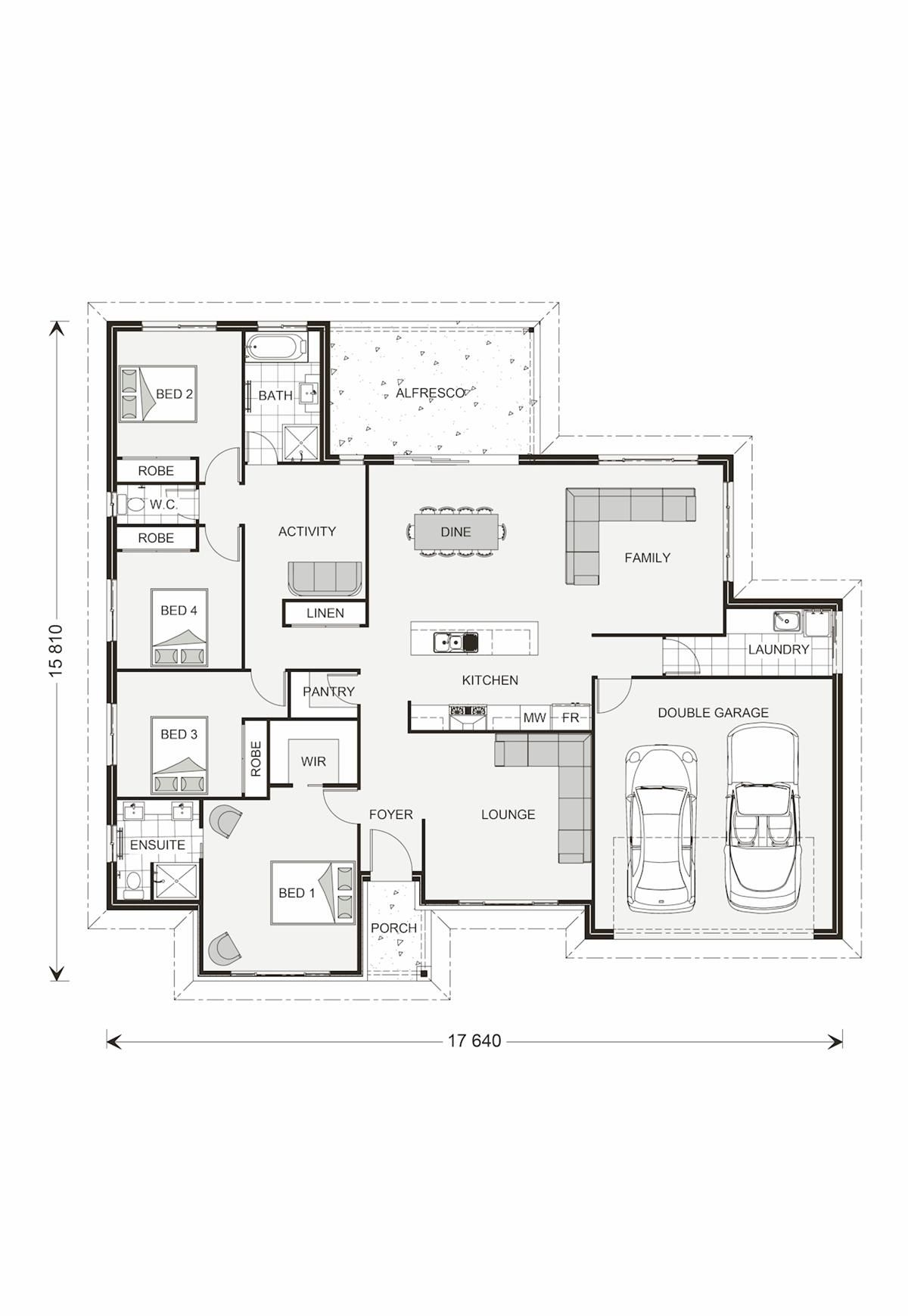 d gardner home plans. Wide Bay 181  Element Our Designs Esperance Builder GJ Gardner Homes 230 Sunshine Coast South