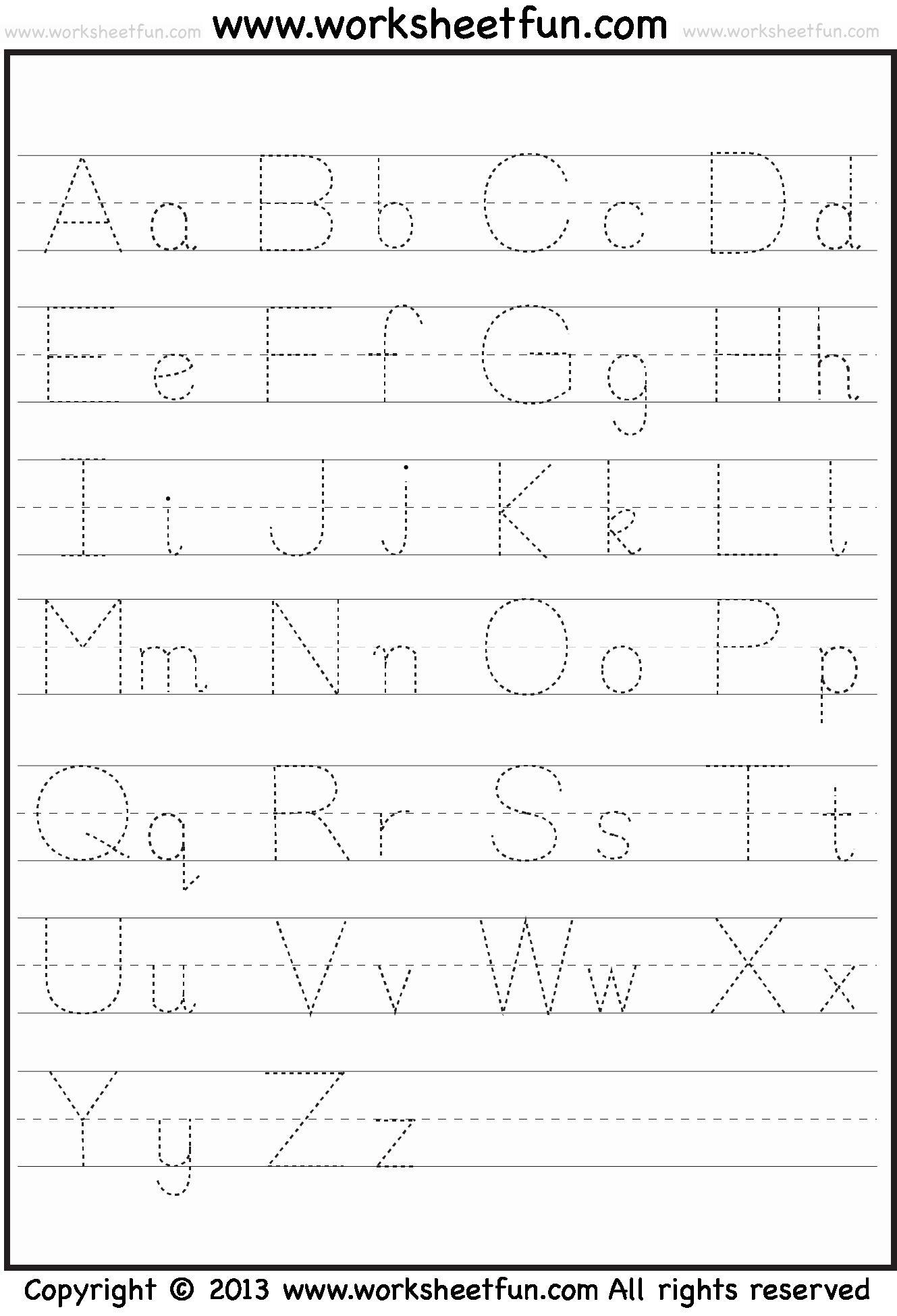 Handwriting Worksheets For Preschoolers In