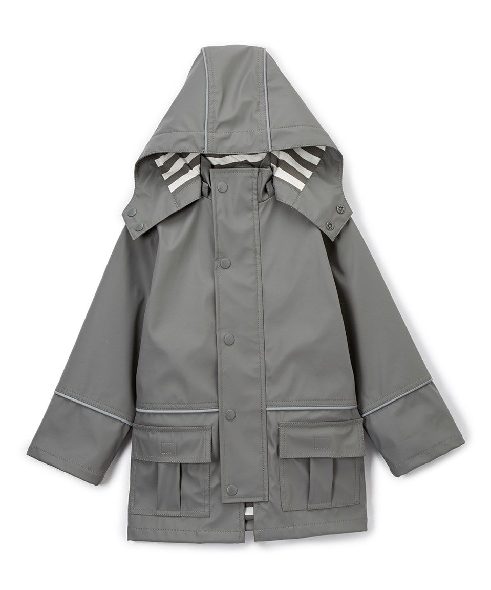 d94939d4bd1c Look what I found on  zulily! DRENCH Gray Raincoat - Infant