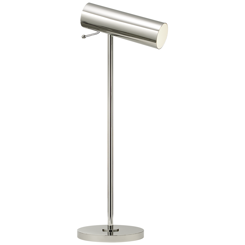 Lancelot Pivoting Desk Lamp In Polished Nickel In 2020 Desk Lamp Lamp Modern Table Lamp