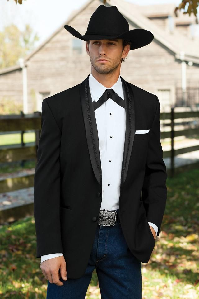 The Black El Rey Western Tuxedo Available For Al From Mister Penguin