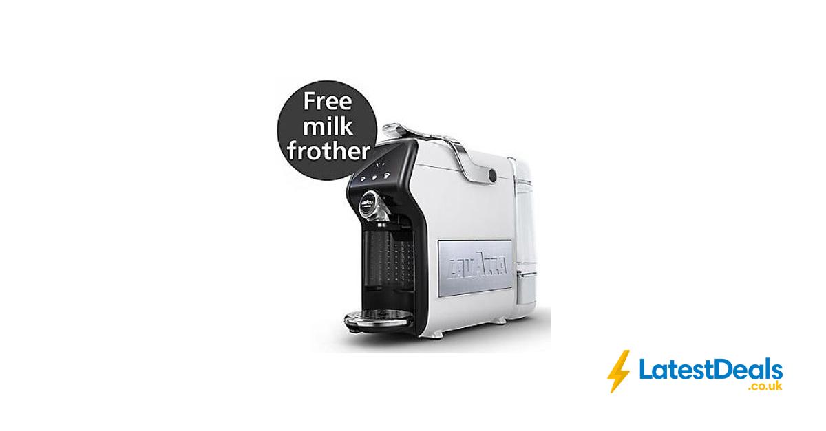 Lavazza Magia Plus Coffee Machine Ice White Free Delivery