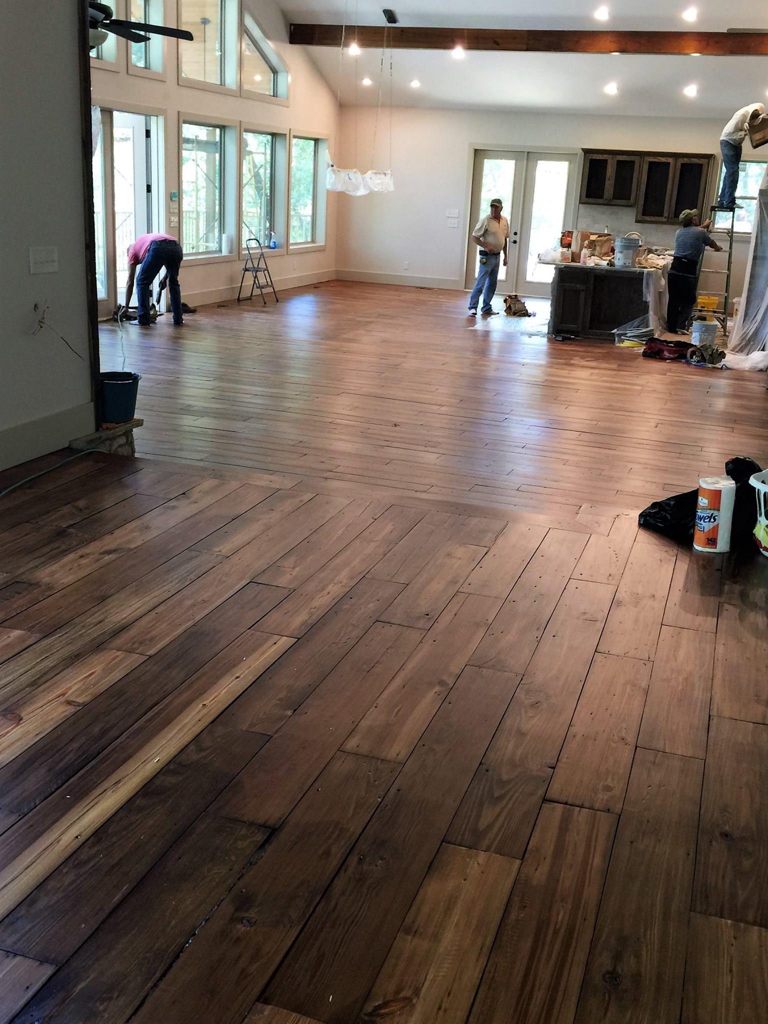 Reclaimed Wood Flooring Using Our Antique Lumber Antique Lumber Company Reclaimed Wood Barn Wood Wood Floors