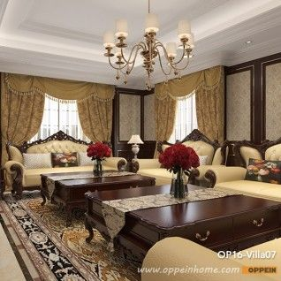 OP16-Villa07: Gorgeous and classical style of 4 storey villa