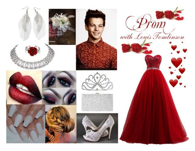 """Prom with Louis Tomlinson"" by the-imaginative-one ❤ liked on Polyvore featuring Cartier, Sondra Roberts, Bling Jewelry, Prom, OneDirection, 1d and louistomlinson"