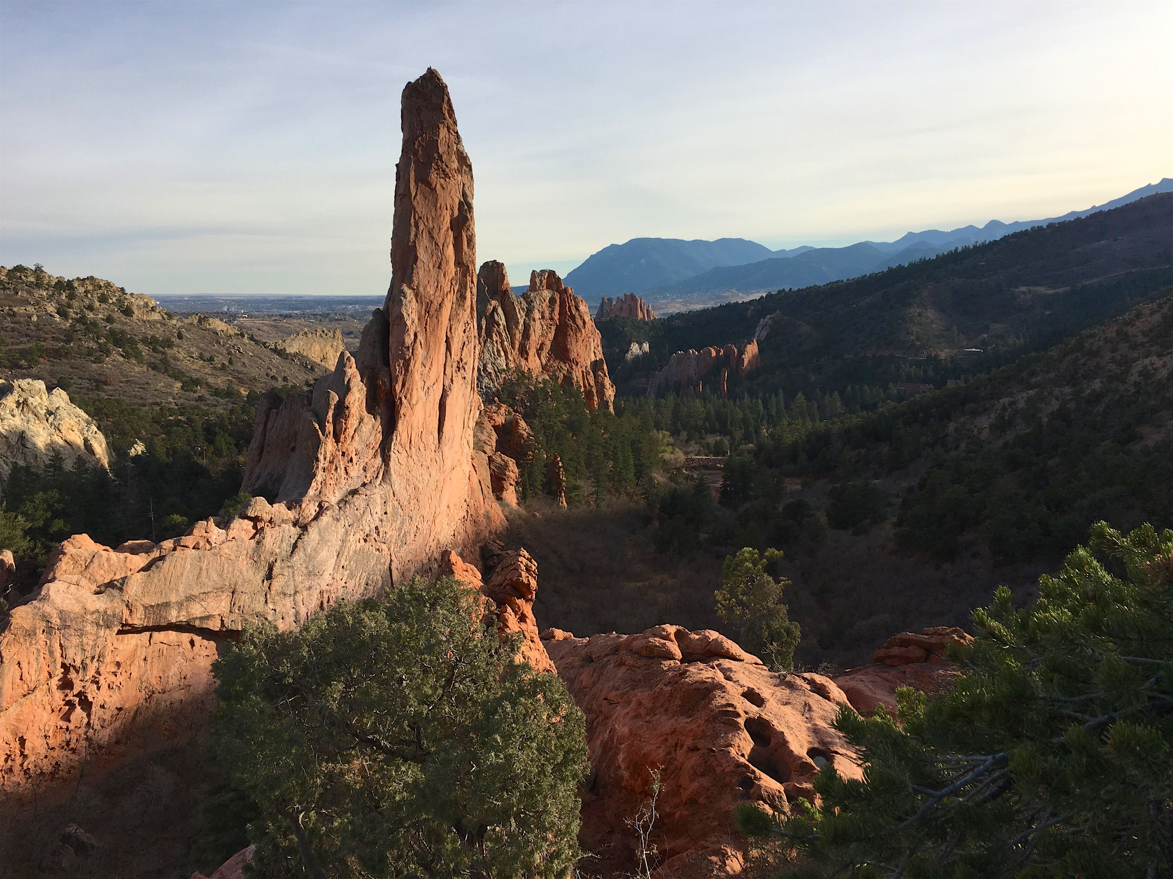 Garden of the gods in colorado springs co is cool but