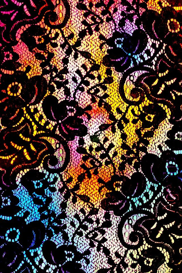 this wallpaper use to be just black lace this is the edit