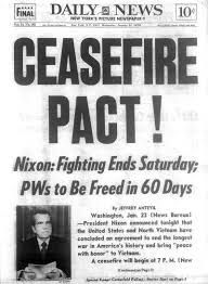 1973 vietnam ceasefire agreement signed the campaign had claimed 1973 vietnam ceasefire agreement signed the campaign had claimed some 58000 american lives platinumwayz