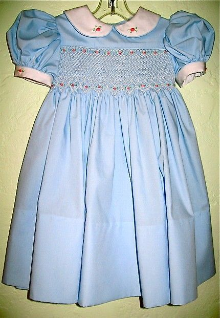 Hand smocked dress - Smocking stitches - Pinterest - The old ...