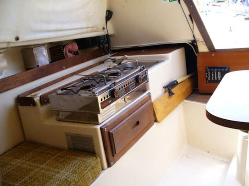 Sailboat Kitchen Cabinet Small