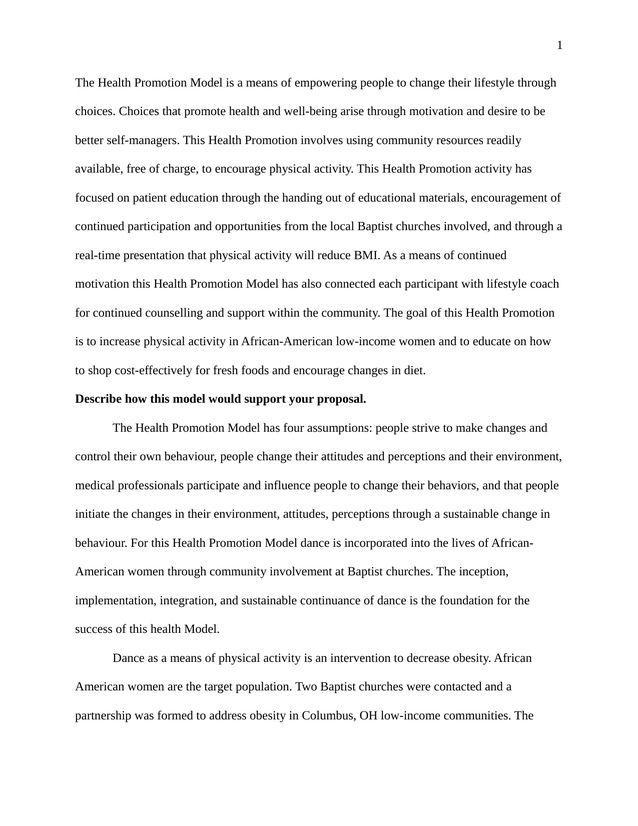 The Tempest Essay Topics A Description Of The Idea Behind My Health Promotion Model  Kibin Social Class Essays also Essay On Good Manners A Description Of The Idea Behind My Health Promotion Model  Kibin  Autobiography Essay Samples