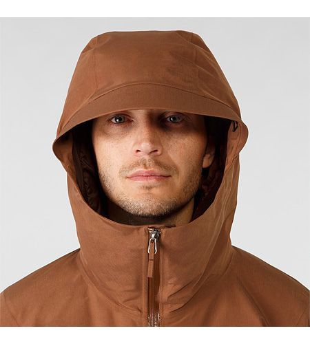 Men's insulated hooded jacket