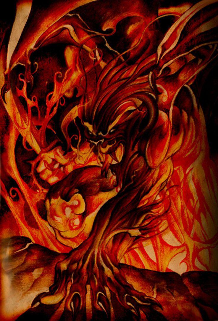 Flame Of Udun by Ignatova Svetlana [©2010]