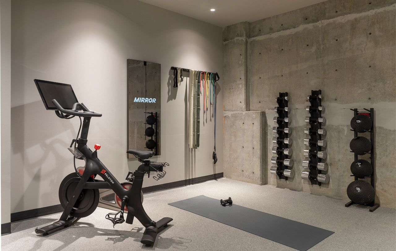 The Woodlark Hotel In Portland Becomes A Modern House Of Welcome Gym Room At Home Modern House Portland Hotels