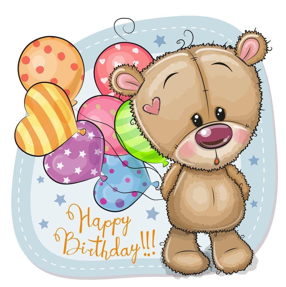 Pin By Maricruz On Cute Cartoon Animals Teddy Bear Drawing Teddy Bear Pictures Balloons