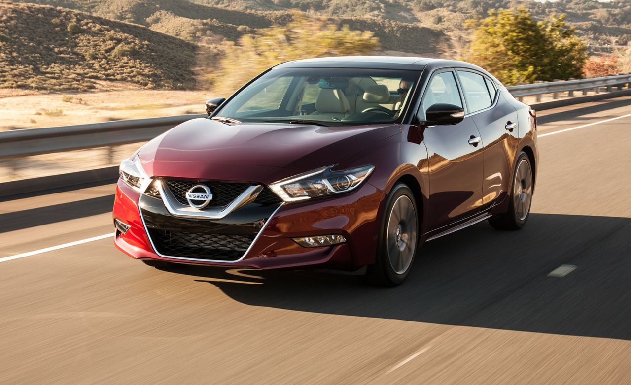 Cars Check Out The 2016 Nissan Maxima