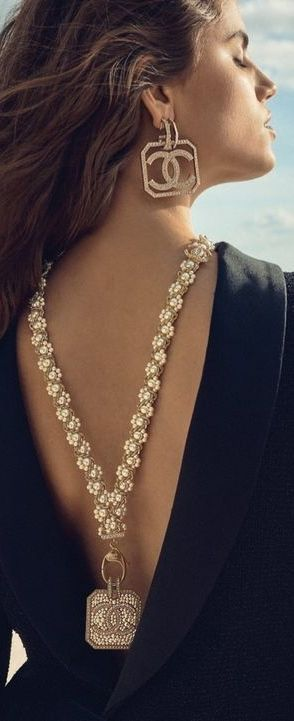 Chanel Earrings And Body Jewelry