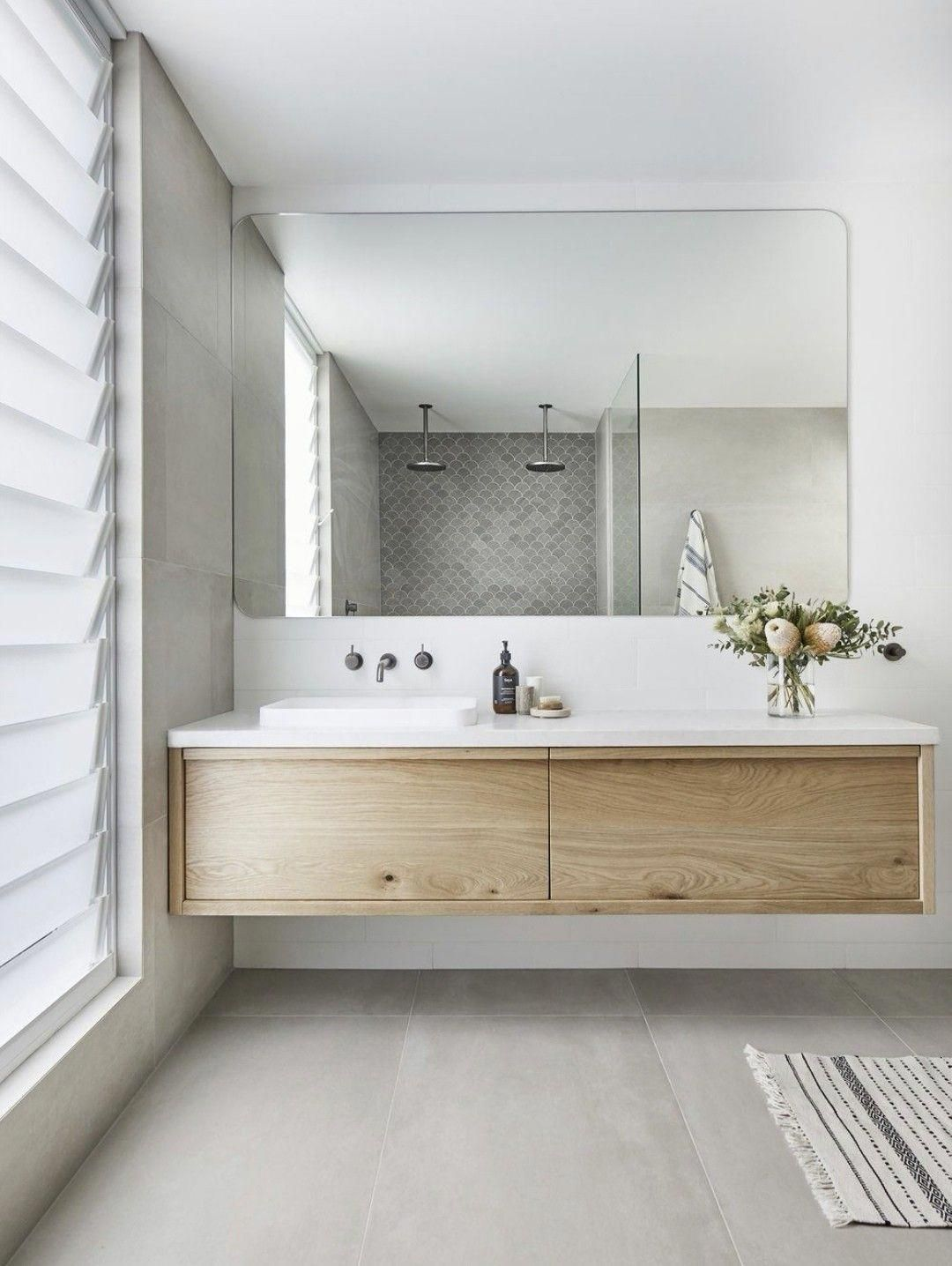 Mid Century Modern Bathroom Remodel Inspiration Moderndesignbathrooms Bathroom Trends Luxury Bathroom Master Baths Timber Vanity