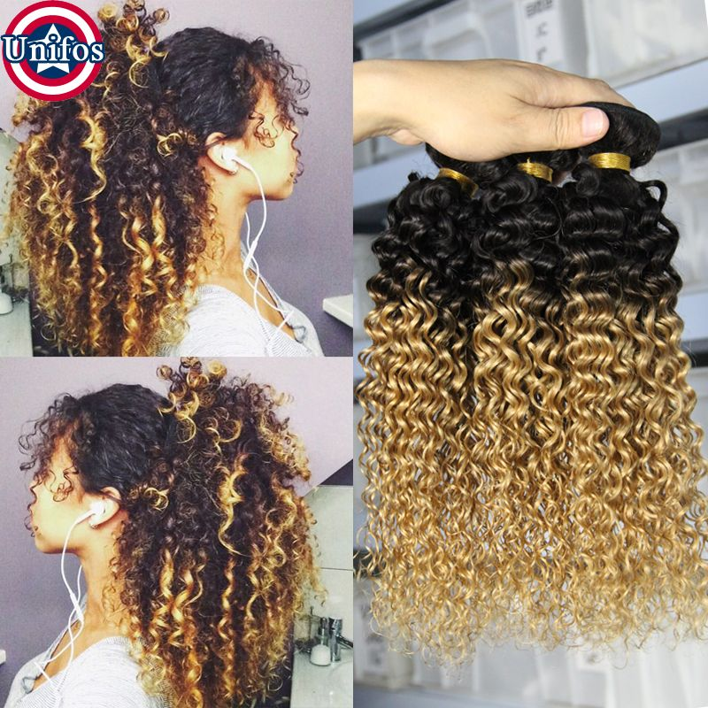 Find More Human Hair Extensions Information About Brazilian Ombre