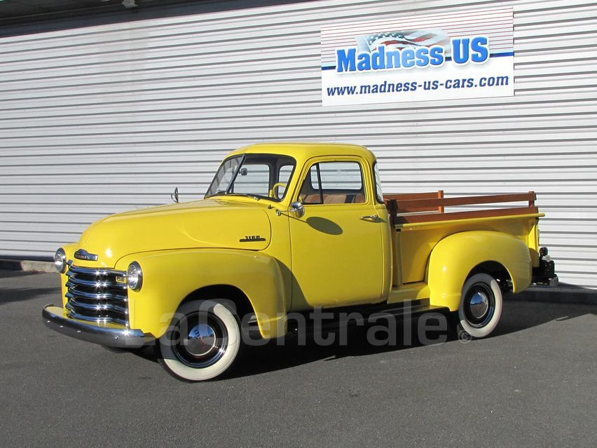 chevrolet 3100 pick up deluxe 1953 essence occasion batz sur mer loire atlantique 44 vehicule. Black Bedroom Furniture Sets. Home Design Ideas