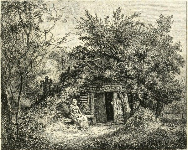 John Thomas Smith's Rural Cottages EPPING FOREST