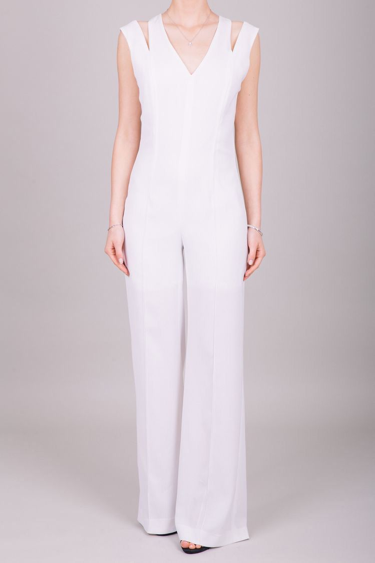b5a4aa10ee57 Joan et Moi Ready to Wear White Wide Leg Jumpsuit for Women. Shop AT  www.instagram.com joanetmoi.official Bridesmaid Jumpsuit   Boho Jumpsuit    Jumpsuit for ...